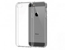 Чехол iPhone 5/5S силикон прозрачный