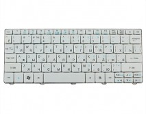 Клавиатура для ноутбука Acer Aspire One D255/NAV50/PAV80/E-Machines 350/EasyNote DOT SE белая