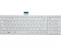 Клавиатура для ноутбука Toshiba Satellite C850/C850D/C870/L850/L850D V.2 (маленький ENTER) белая