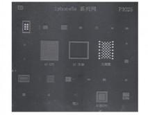 Трафарет BGA P3025 iPhone 5S, 25 в 1
