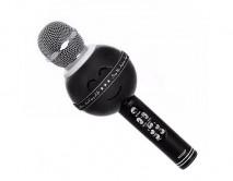 Колонка-Микрофон 878 черный (Bluetooth/USB/microSD/Change sound)
