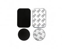 Набор метал. пластин для магнитного держателя, без упаковки, черный