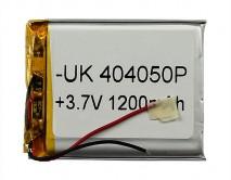 АКБ универсальный 404050P  (4*40*50mm, 1200 mAh), для mp3/mp4