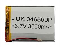 АКБ универсальный 046590P (4*65*90mm, 3500 mAh)