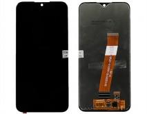 Дисплей Samsung A015F Galaxy A01 + тачскрин черный (Узкий коннектор) 1 класс