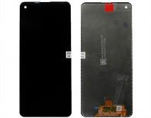 Дисплей Samsung A217F Galaxy A21s + тачскрин черный 1 класс