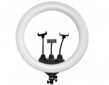 Селфи лампа с держателем для телефона (3шт) (D-56см)